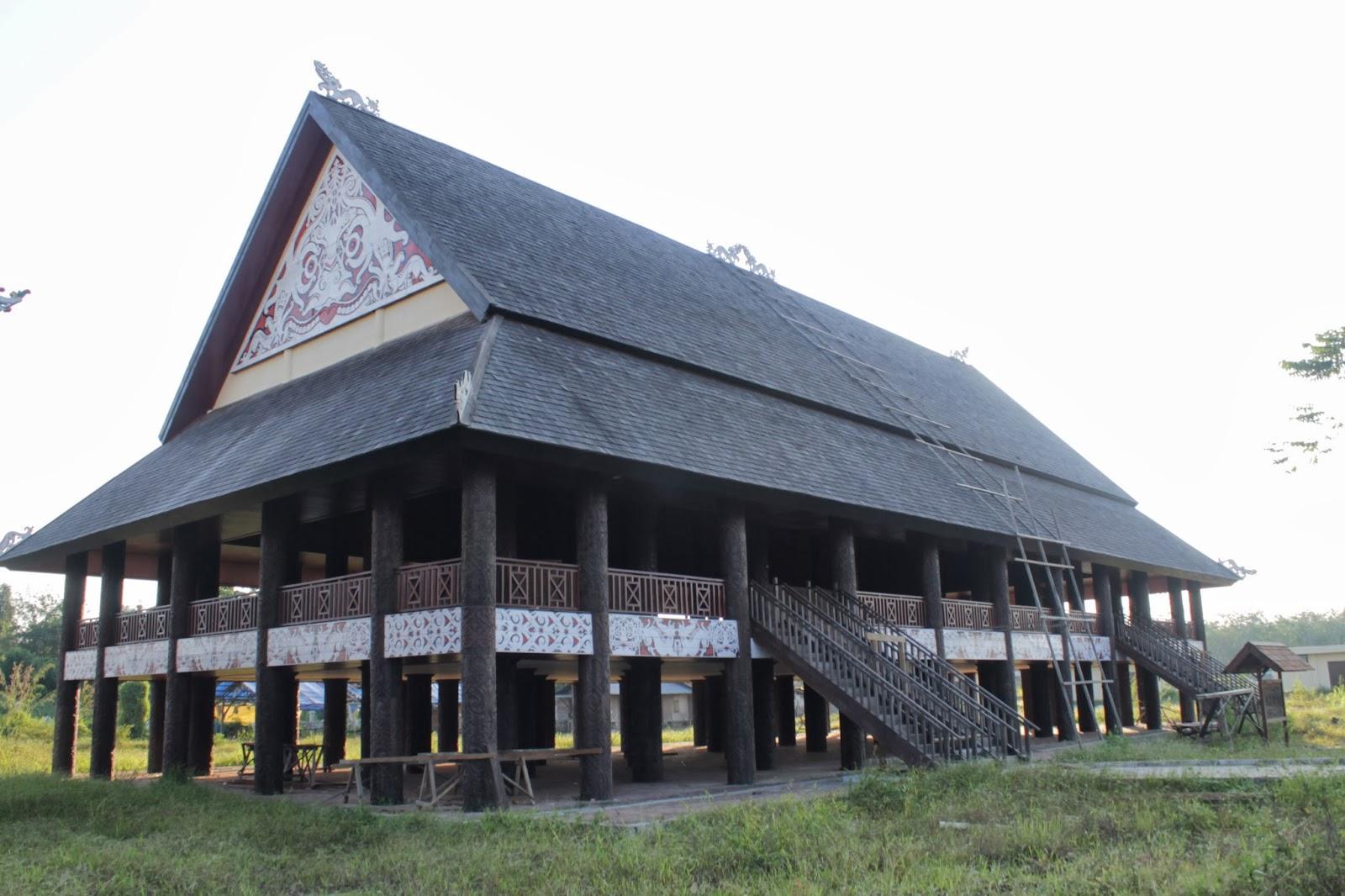 Download this Lamin Rumah Panjang Dimasa Sekarang picture