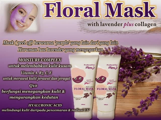 Floral mask Dian