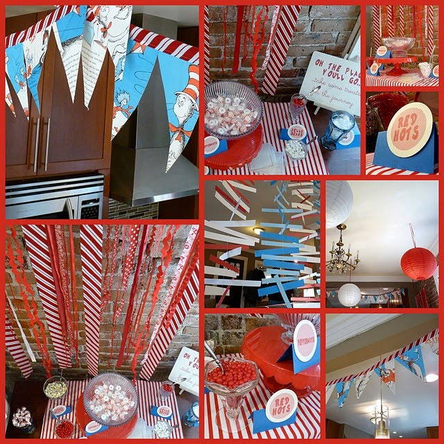 Dr. Seuss inspired party 2