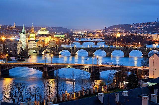 Beautiful Cities in Europe - Prague, Czech republic