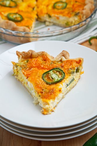 Jalapeo Popper Quiche