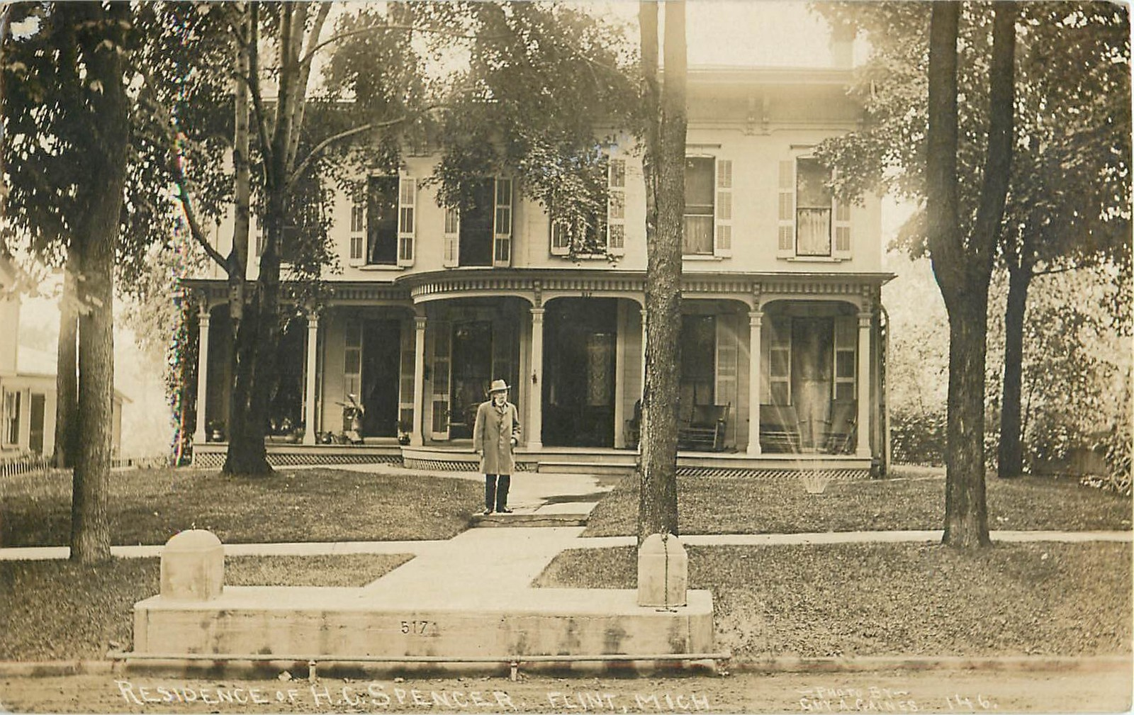 Spencer house no relation old flint michigan pinterest for 3 4 houses in michigan