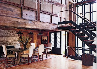 Open Kitchen Floor Plans on Love The Reclaimed Wood Look  The Open Floorplans And The Unique