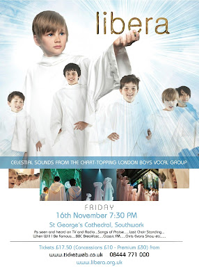 Libera's concert in St. George's Cathedral