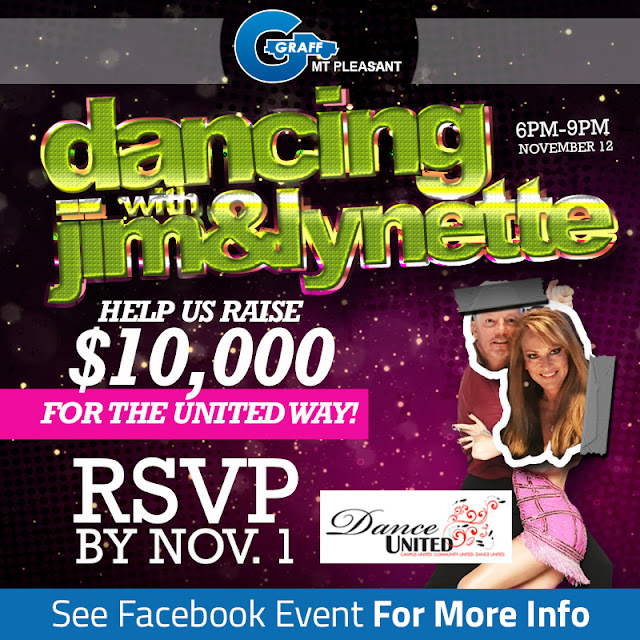 Join Graff Mt.Pleasant for Dancing with Jim and Lynette!