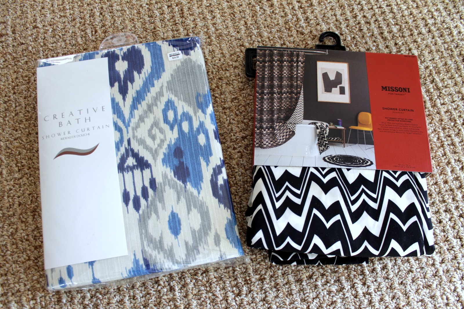 Our Fifth House: Gender Neutral Shower Curtains and a Giveaway