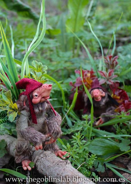 fantasy creature artdoll grass pixie