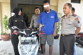 Polsek Laweyan Polresta Surakarta Tangkap Pelaku Curanmor