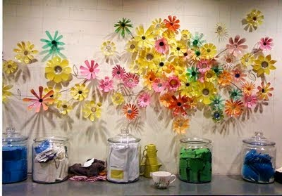 Flores con Botellas Descartables