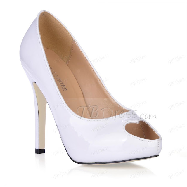 Peach Wedding Dress Cheap Ivory Bridal Shoes Wedges
