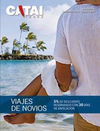 Catai Catálogo viajes de novios 2015