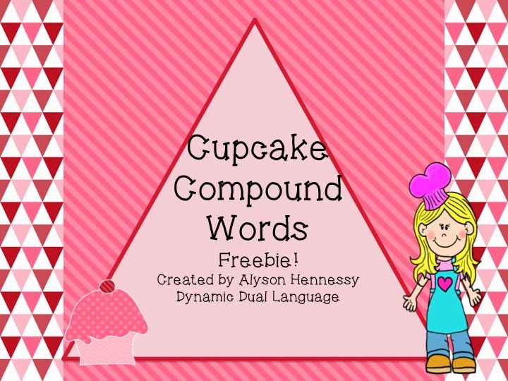 http://www.teacherspayteachers.com/Product/Cupcake-Compound-Words-FREEBIE-1094842