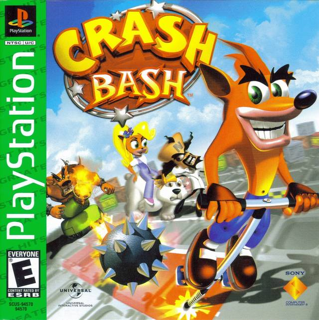 Neko Random A Look Into Video Games Crash Bash PS1