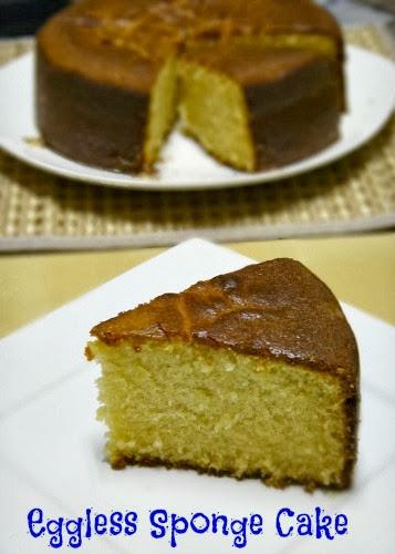 Eggless Sponge Cake Recipe Without Baking Soda