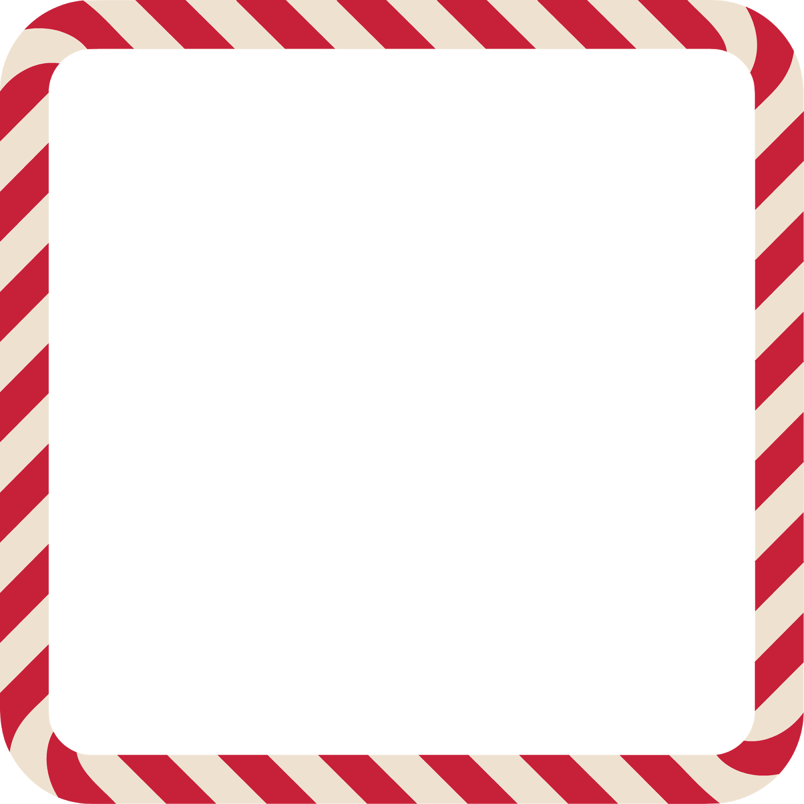 Wonderland In A Wardrobe: Candy Cane Frames Freebies!