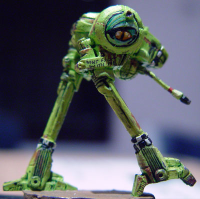 how tall is battletech locust