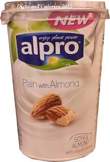 Alpro soy almond yogurt