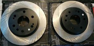 Power Slot Discos, Rotores y Tambores - Equipo Original