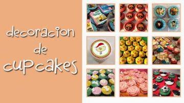 Aprende a decorar cupcakes de manera fácil y divertida