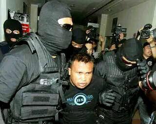 perompak Ambank ditangkap