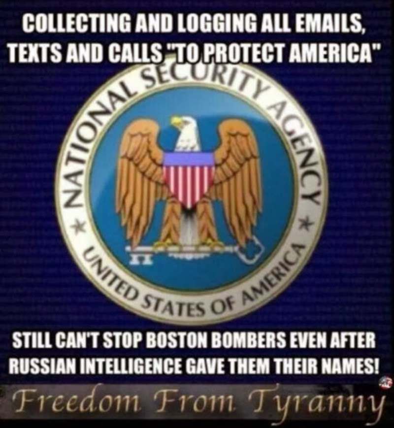 """nsa spying on americans Bathtub falls and police officers kill more americans than terrorism,  """"surveillance state: nsa spying and more"""" global issues 07 oct 2013."""