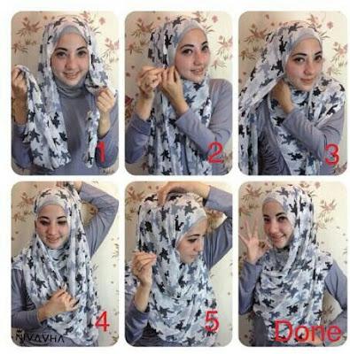 Tutorial Hijab Panjang Yang Simple Terbaru
