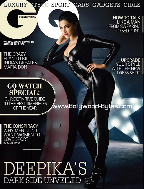 Deepika Padukone sizzles on the cover of GQ India Magazine for August 2012