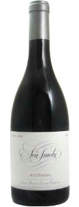 Photo of a bottle of Sea Smoke Pinot Noir