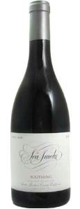 Photo of a bottle of Sea Smoke Pinot Noir
