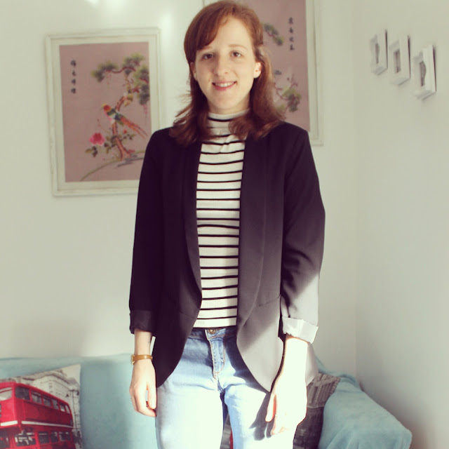 Instagram Blog Catch Up Belgium Hot Chocolate Rotterdam Christmas Decorations London Fortnum and Mason OOTD Outfit Stripey Polo Neck Fashion Lifestyle Blogger
