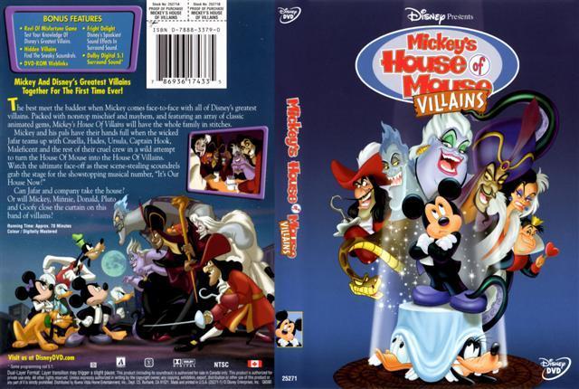 hanna barbera show parte 2 os vilões da disney 2001 mickey s house