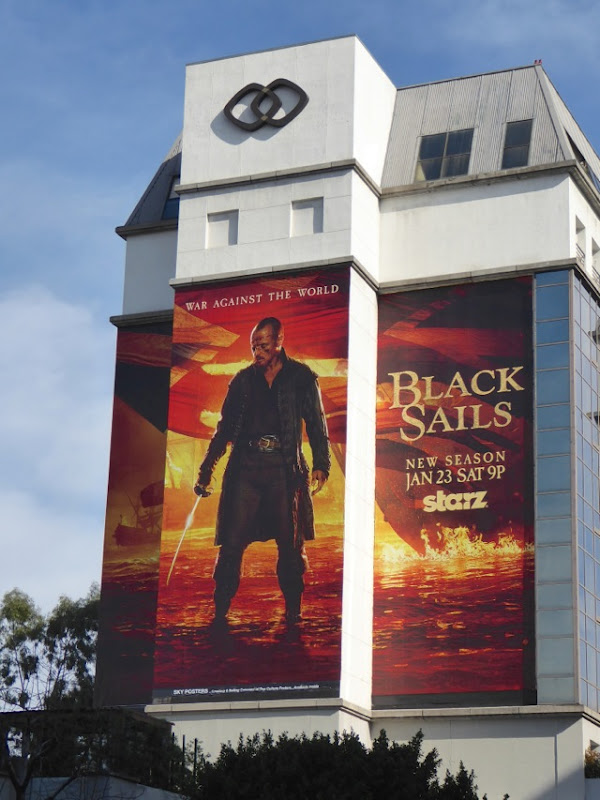 Giant Black Sails season 3 billboard