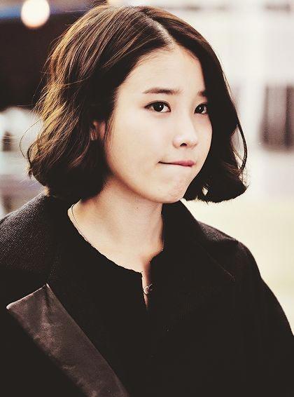 Cute Korean Short Bob Hairstyles Ideas for Girls
