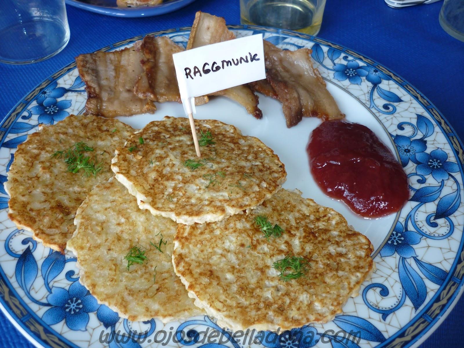 Raggmunk, comidas del mundo, Suecia, sueca