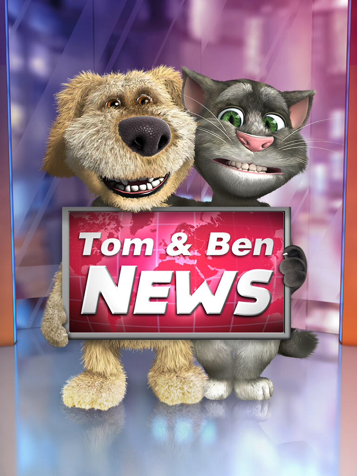 Talking Tom & Ben News App iTunes App By Out Fit 7 Ltd - FreeApps.ws