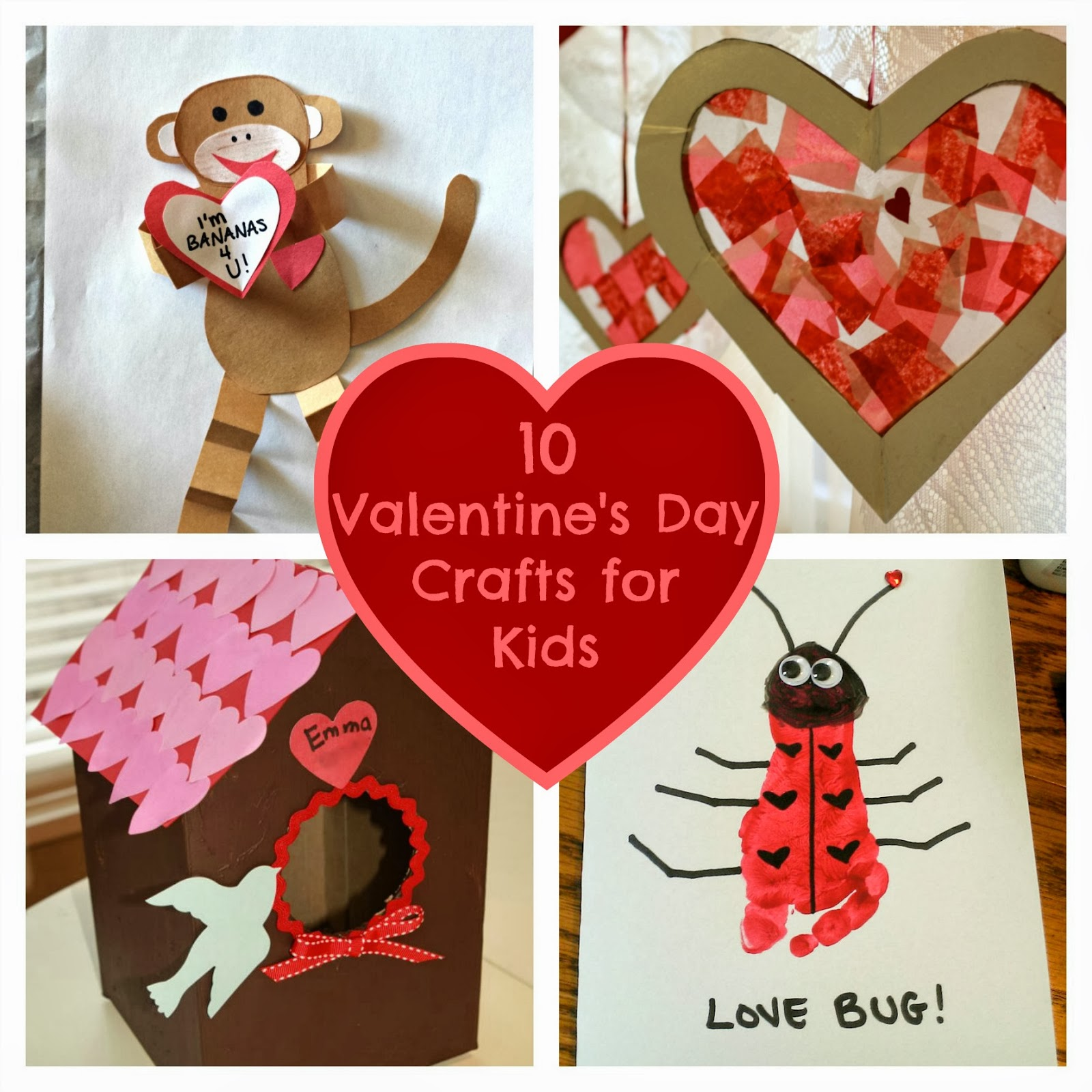 10 valentine s day crafts for kids fun home things