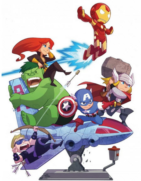Tiny Avengers