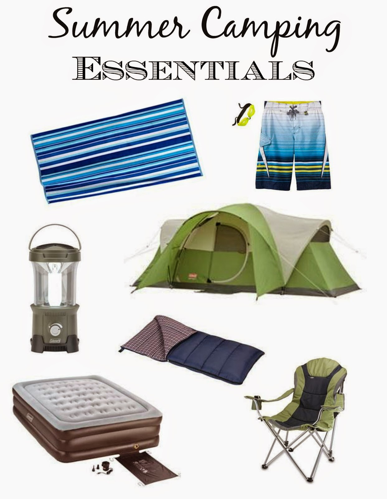 Summer Camping Essentials from Kohl's - Outnumbered 3 to 1