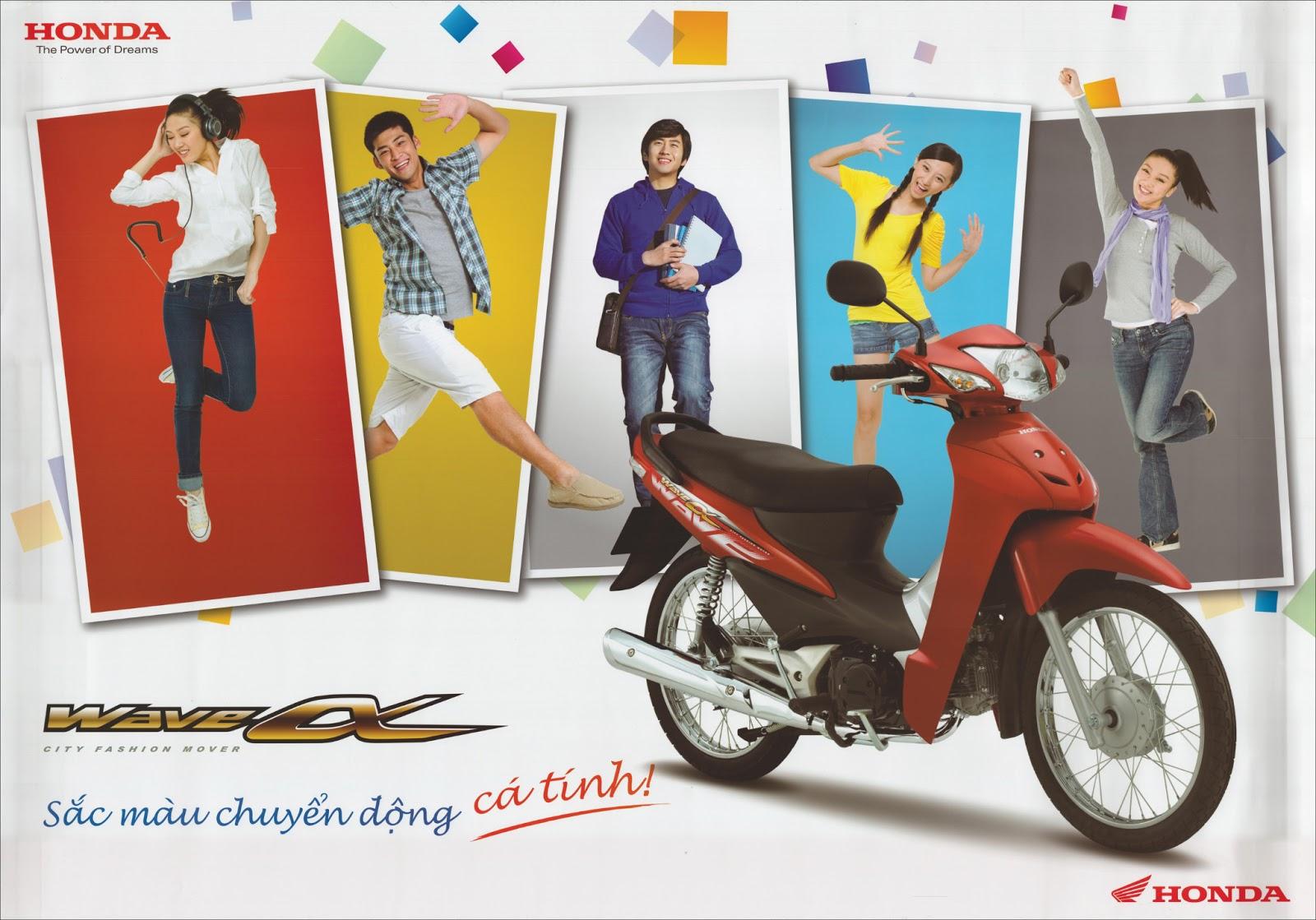 Tuyển nhân viên Nam làm bảo vệ cho Chương trình quảng cáo của HONDA Poster+honda02