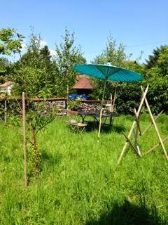 Ein Gartenausschnitt