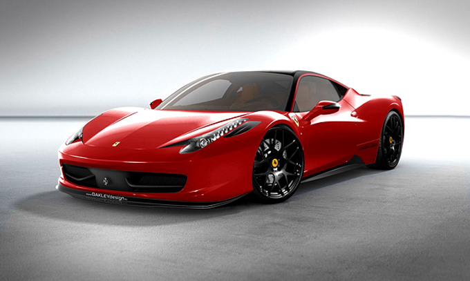 2010 Ferrari 458 Italia China 20th Anniversary photo - 2