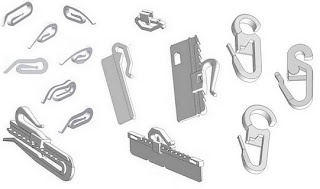 zubeh rteile f r vorh nge und raffrollos maggio 2012. Black Bedroom Furniture Sets. Home Design Ideas