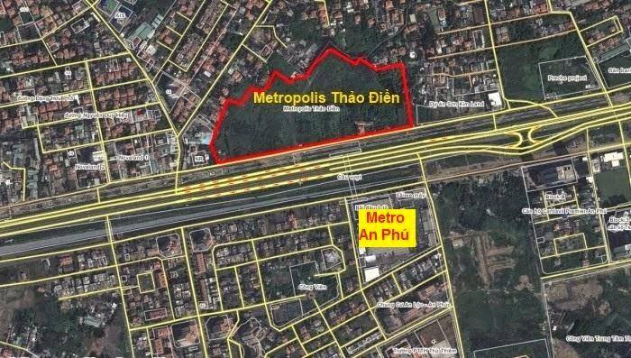 Metropolis Thảo Điền, can ho metropolis thao dien