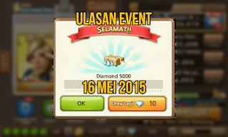 Ulasan Event Get Rich 16 Mei 2015, Event Get Rich 16 Mei, Trik Event 16 Mei 2015.