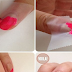 Pink Color Block Nail Art Tutorial