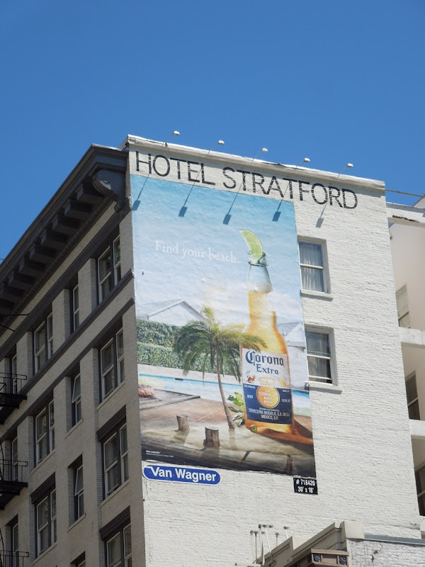 Corona Find your beach billboard San Francisco