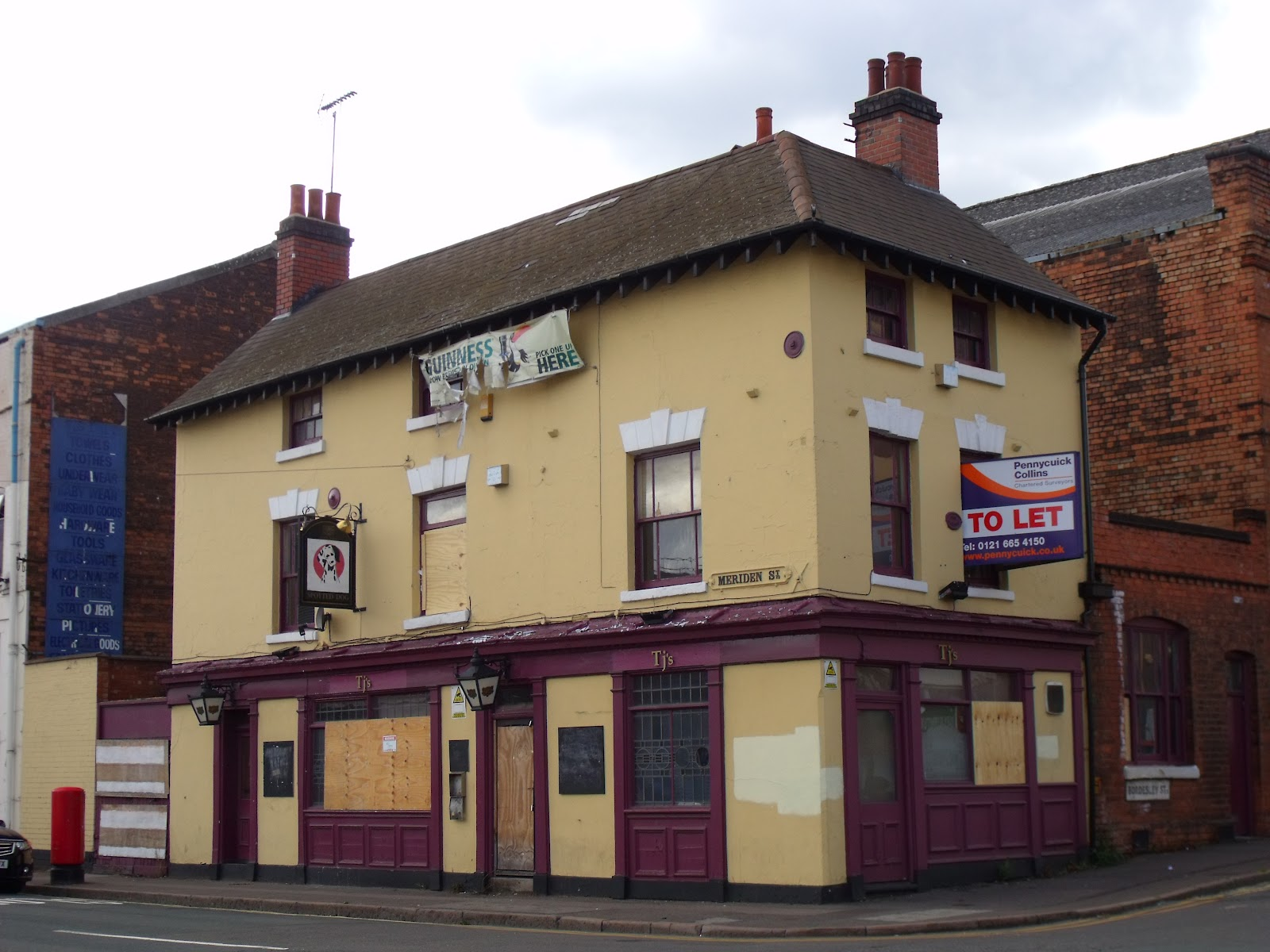 Pubs In Meriden >> Pubs: Then & Now: #058 Spotted Dog, Digbeth (RIP) : 1998 to 2011
