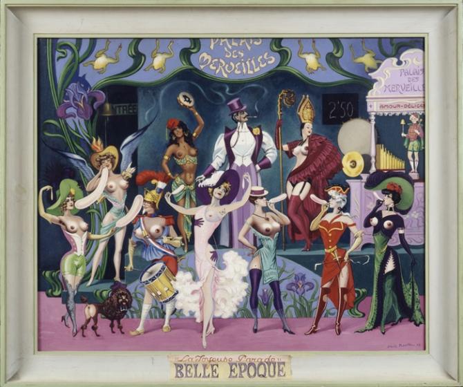 Camille Clovis Trouille palais des merveilles