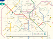 Plan de Paris Metro RATP (plan paris metro ratp)