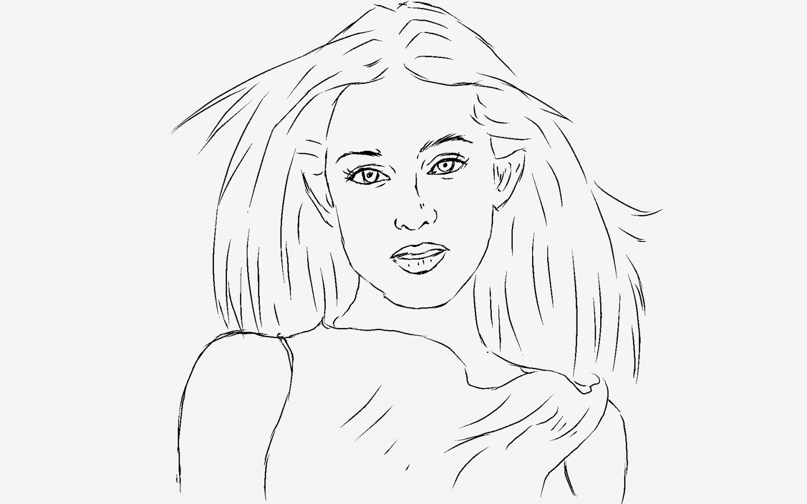 How to draw a beautiful girl for beginners images and video tutorial